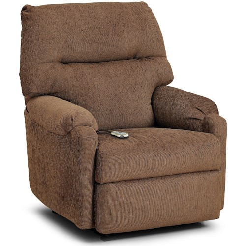Best Home Furnishings Petite Recliners Jojo Power Lift Recliner With