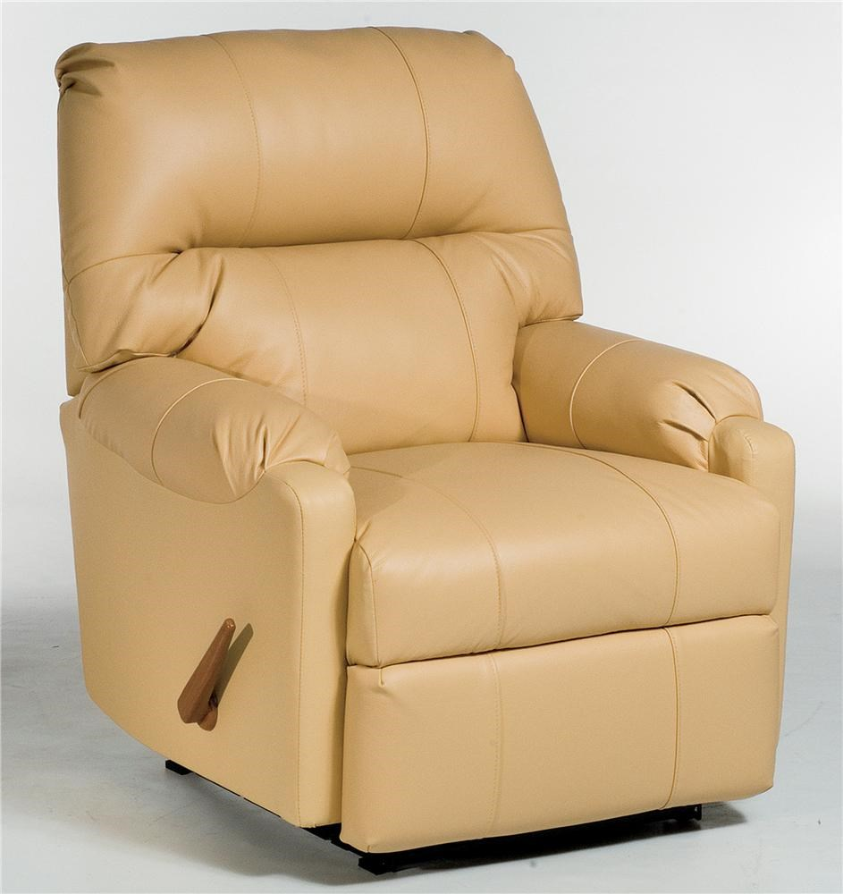 JoJo Recliner Rocker with Rolled Arms