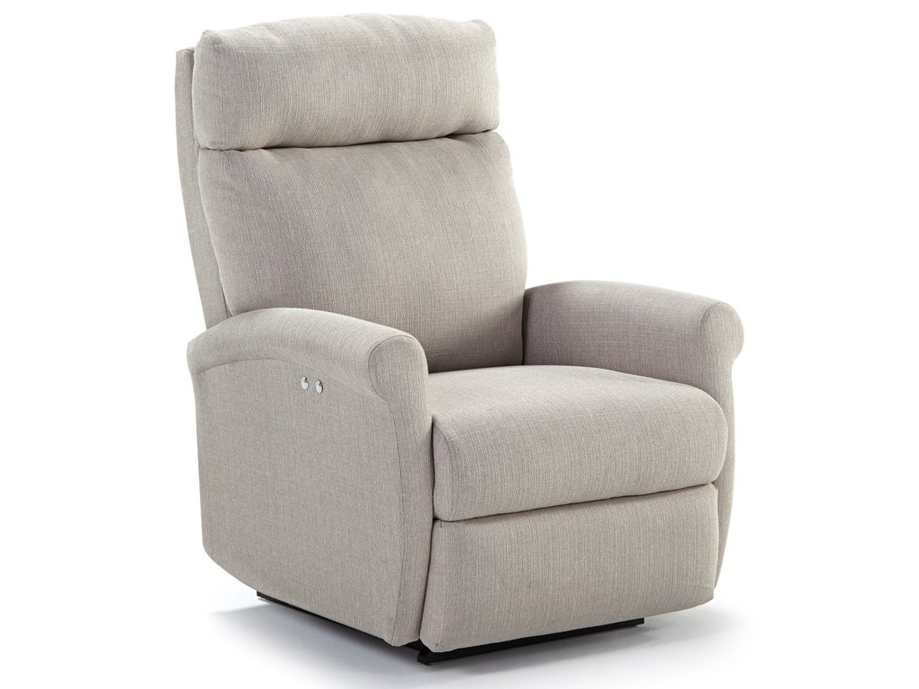 Best Home Furnishings Recliners - PetitePower Space Saver Recliner