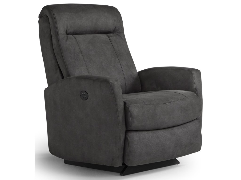 Best Home Furnishings Petite ReclinersCostilla Space Saver Recliner