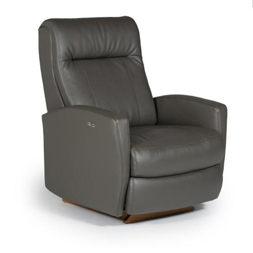 Best Home Furnishings Recliners - Petite Costilla Swivel Glider Recliner