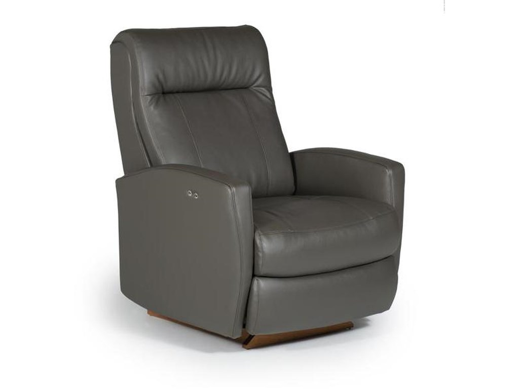 Best Home Furnishings Petite ReclinersCostilla Swivel Rocker Recliner