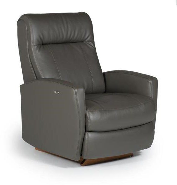 Best Home Furnishings Petite ReclinersCostilla Power Rocker Recliner