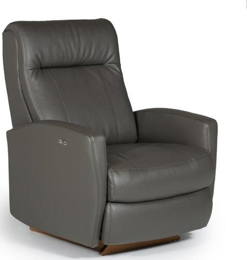 Best Home Furnishings Recliners - Petite Costilla Swivel Rocker Recliner