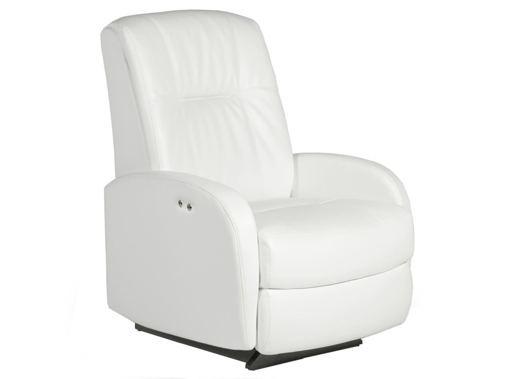 Best Home Furnishings Petite ReclinersRuddick Swivel Rocker Recliner