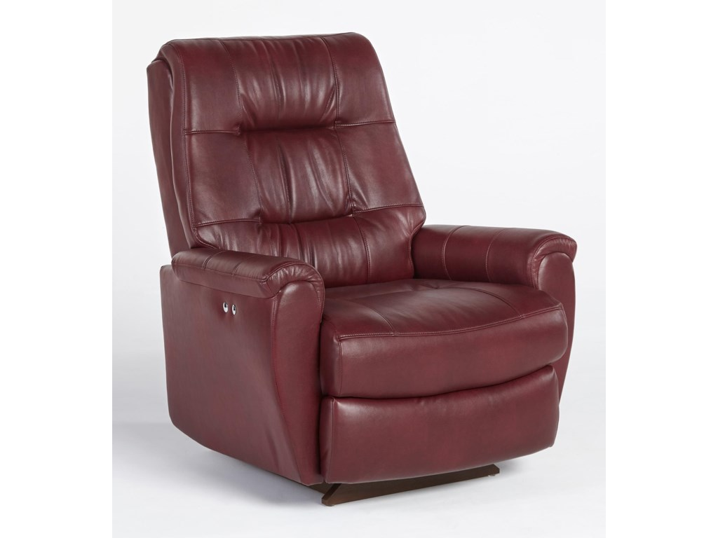 Best Home Furnishings Petite ReclinersSwivel Rocker Recliner