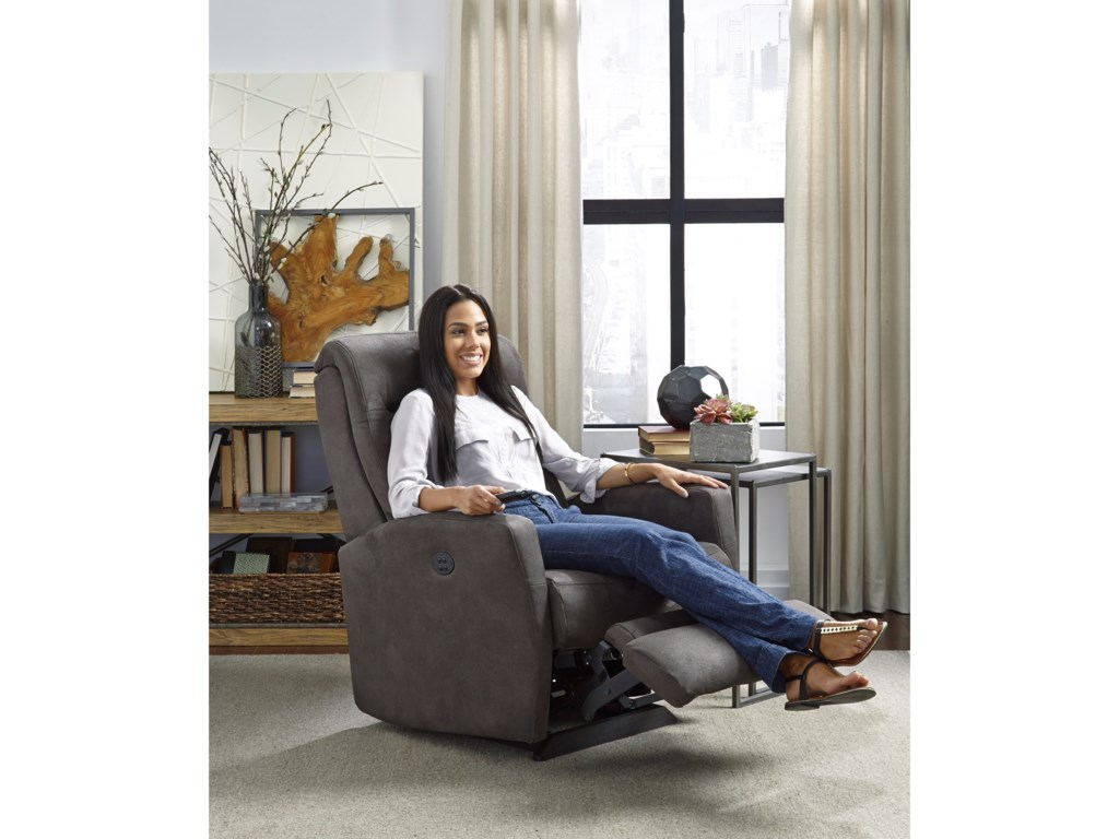 Best Home Furnishings Petite ReclinersCostilla Pwr Wall Recliner w/ Pwr Headrest