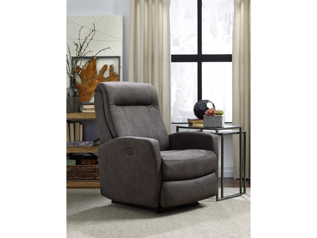 Best Home Furnishings Petite ReclinersCostilla Pwr Rocker Recliner w/ Pwr Headrest