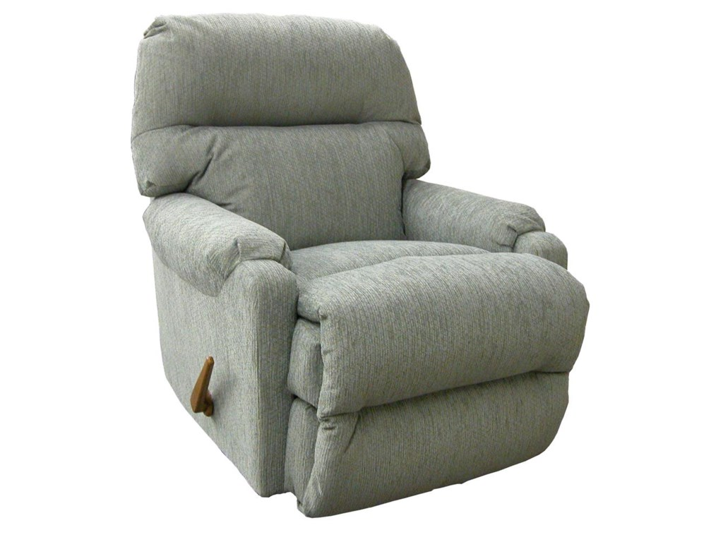Best Home Furnishings Petite ReclinersCannes Swivel Rocker Recliner