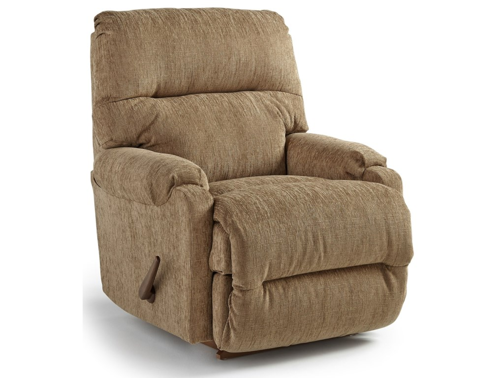 Best Home Furnishings Petite ReclinersCannes Rocker Recliner