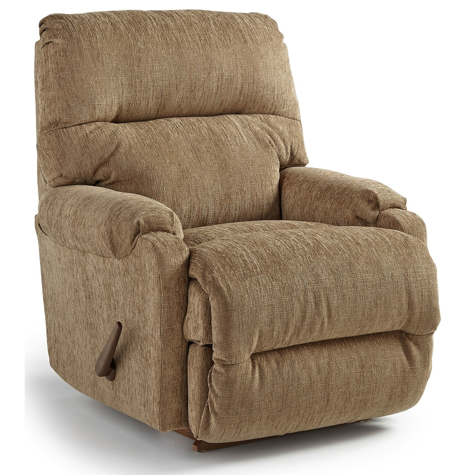Best Home Furnishings Recliners   Petite Cannes Rocking Reclining Chair