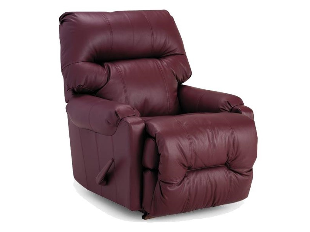 Best Home Furnishings Petite ReclinersDewey Swivel Rocker Recliner