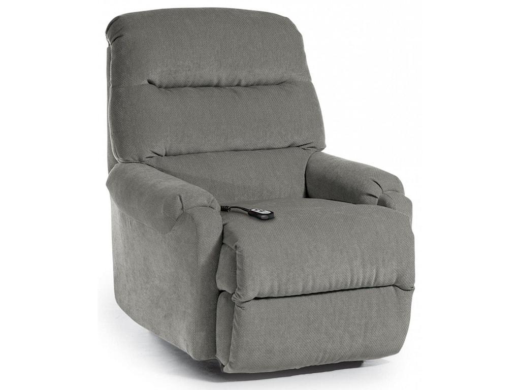 Best Home Furnishings Petite ReclinersSedgefield Pwr Lift Recliner w/ Pwr Headrest