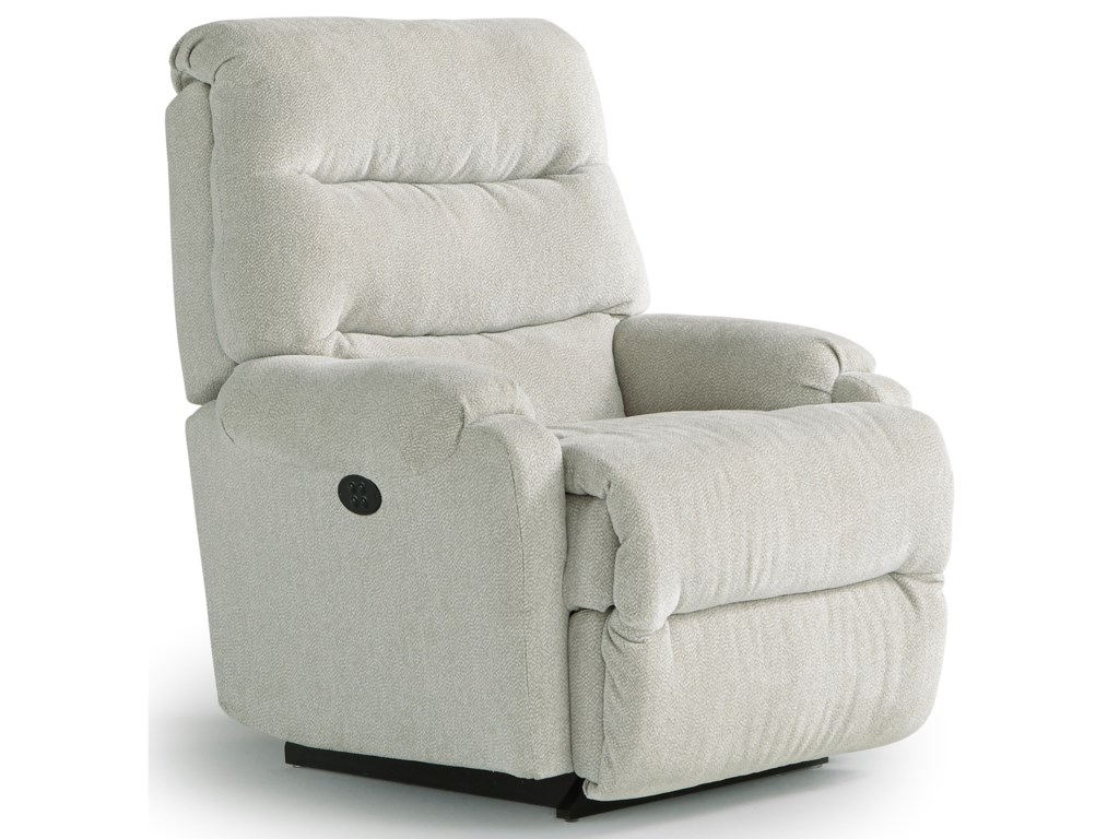 Best Home Furnishings Petite ReclinersSedgefield Pwr Rock Recliner w/ Pwr Headrest