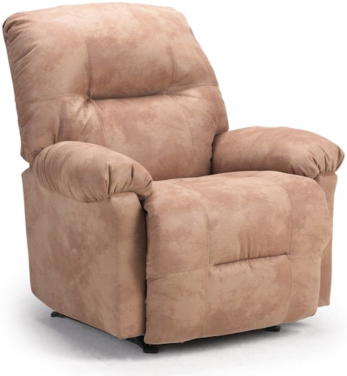 Best Home Furnishings Recliners - Petite Wynette Power Rocking Reclining Chair