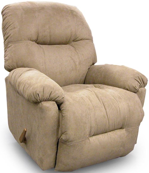 Best Home Furnishings Recliners - Petite Wynette Rocking Reclining Chair
