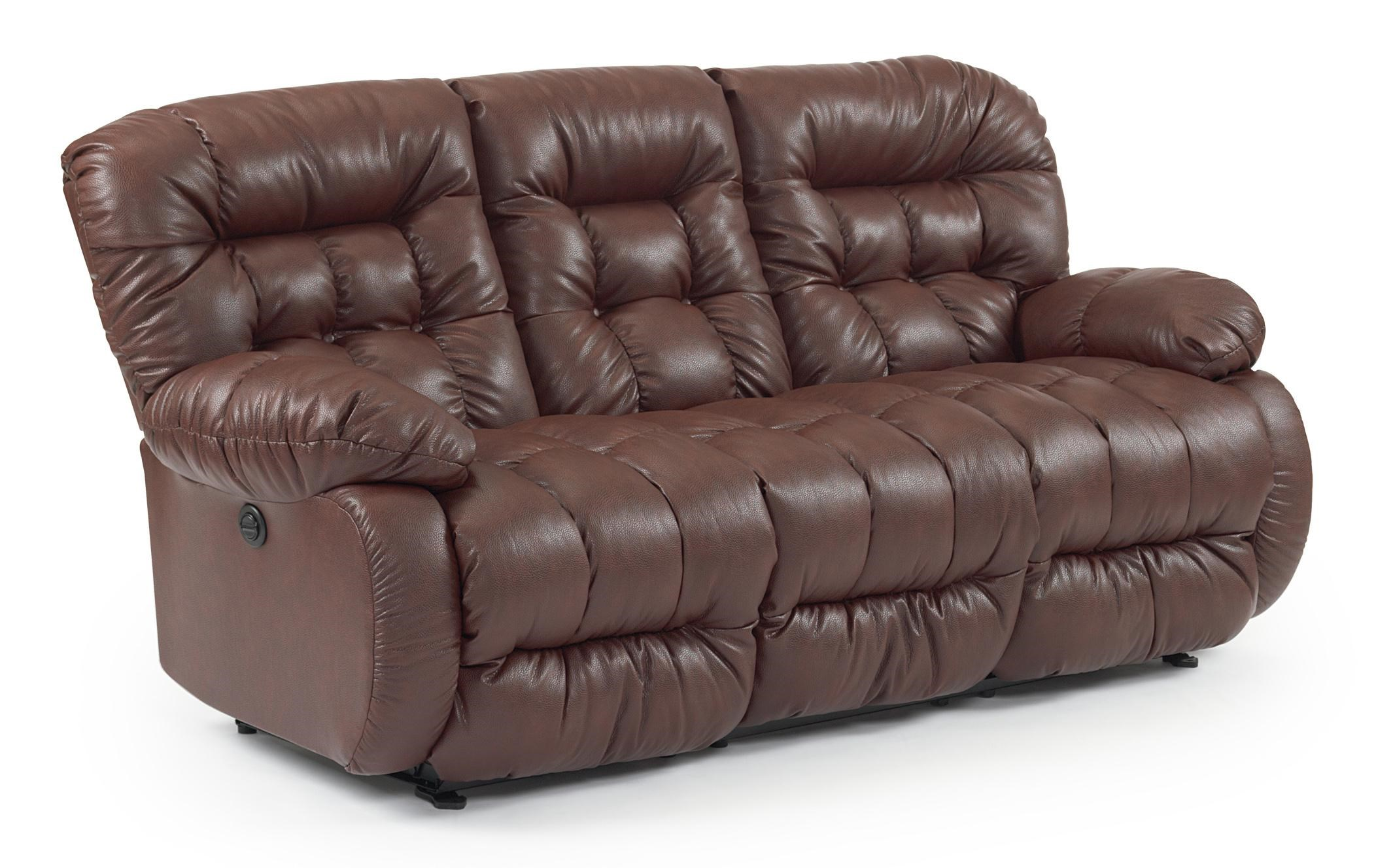 Best Home Furnishings Plusher Space Saver Reclining Sofa  sc 1 st  Wayside Furniture : best reclining sofas - islam-shia.org