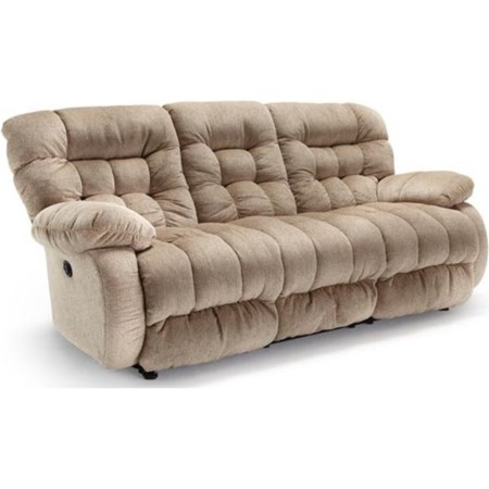 Space Saver Reclining Sofa