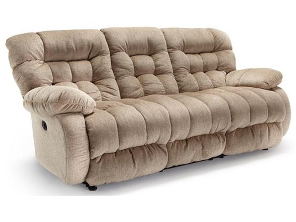 Best Home Furnishings PlusherSpace Saver Reclining Sofa