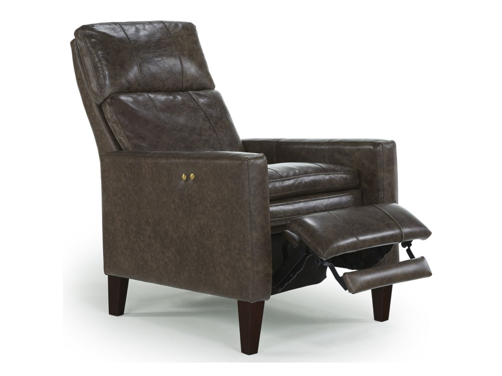 Best Home Furnishings Recliners - PushbackMyles Power High Leg Recliner