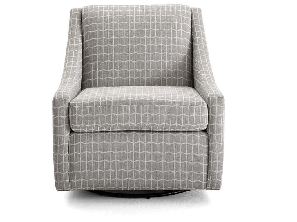 best loved 3440c e092f Regan Contemporary Swivel Glider Chair by Best Home Furnishings at Zak's  Home