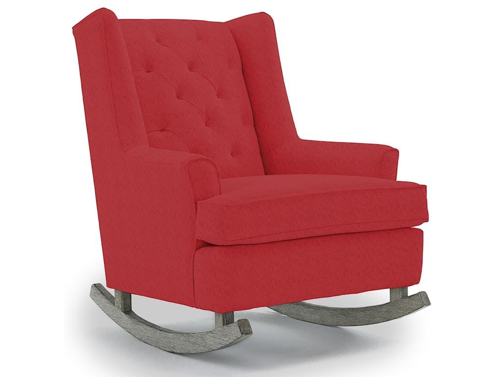 Best Home Furnishings Runner RockersPaisley Rocking Chair