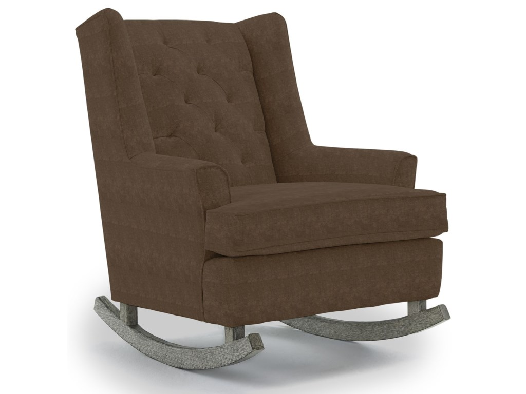 Best Home Furnishings Runner RockersPaisley Rocking Chair