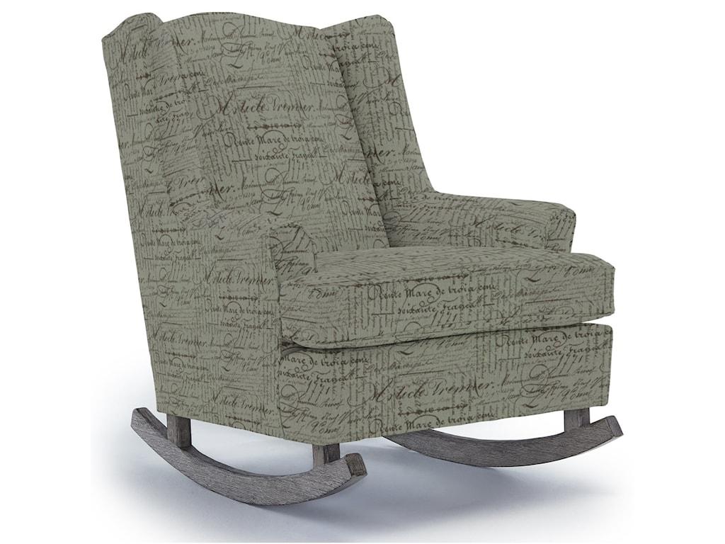 Best Home Furnishings Runner RockersWillow Rocking Chair