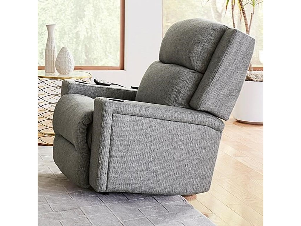 Best Home Furnishings RynnePower Space Saver Recliner w/ Pwr Head & Lum