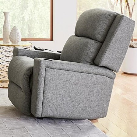 Power Rocker Recliner w/ Pwr Head & Lum