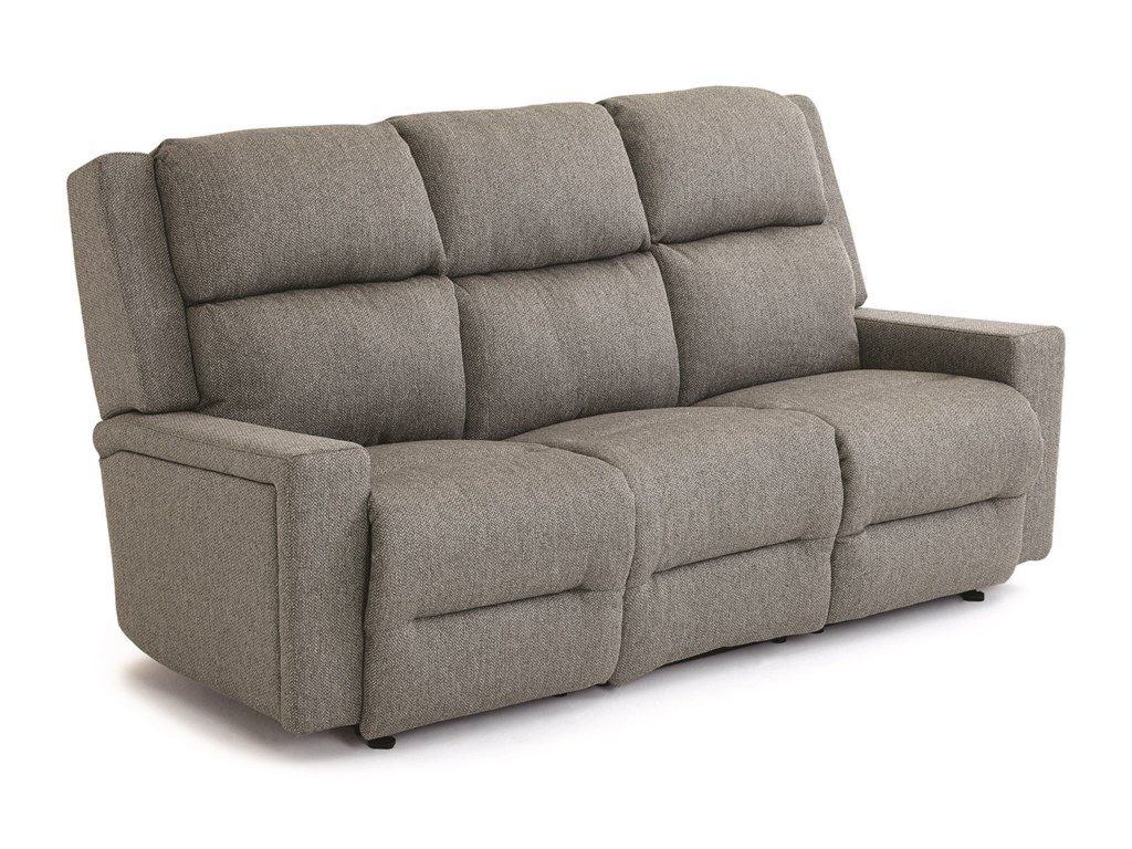 Best Home Furnishings Rynne Tilt Headrest Lumbar Reclining Sofa