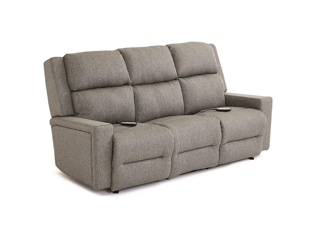 Best Home Furnishings RynnePower Tilt Headrest/Lumbar Reclining Sofa
