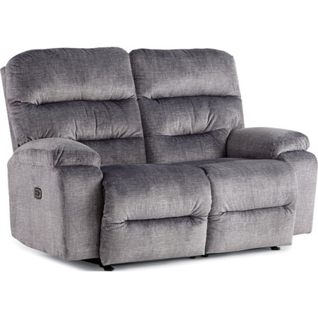 Reclining Space Saver Loveseat