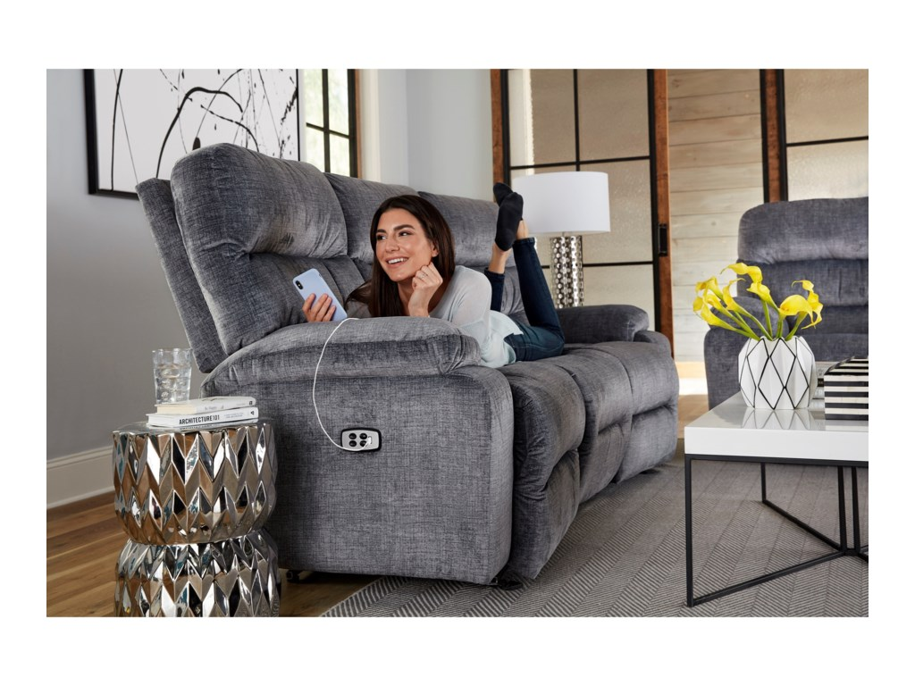 Best Home Furnishings RysonConversation Space Saver Reclining Sofa