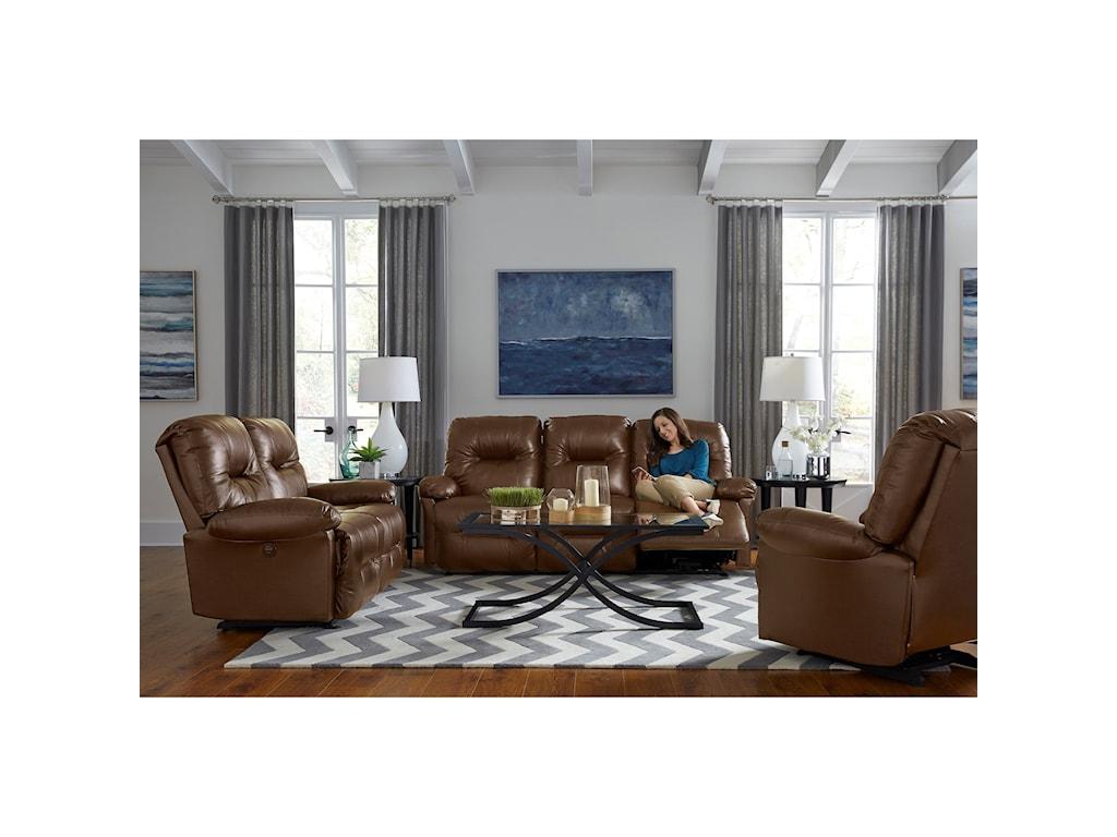 Best Home Furnishings S501 ZaynahPower Reclining Loveseat