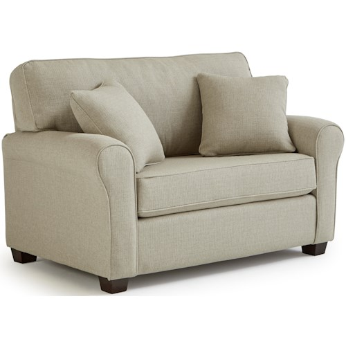 Best Home Furnishings Shannon Twin Sofa Sleeper with Air Dream Mattress
