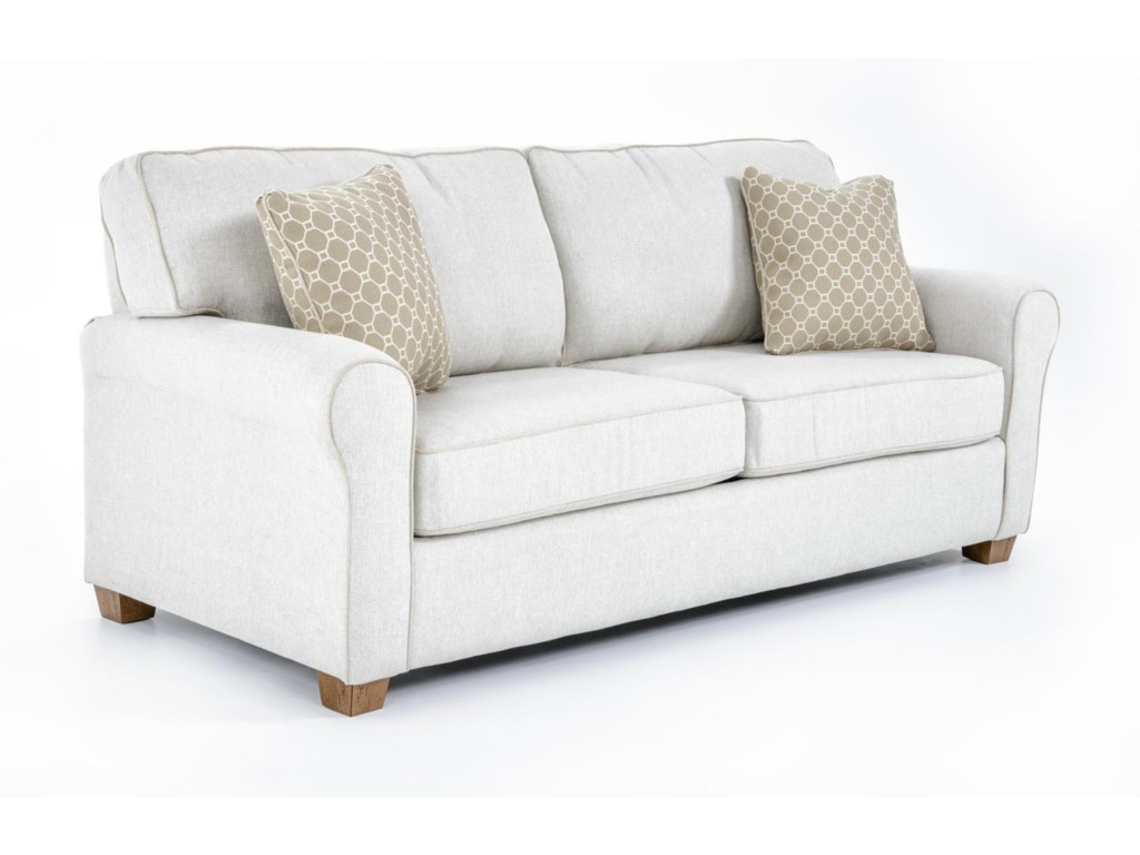 Best Home Furnishings ShannonQueen Sofa Sleeper w/ Air Dream Mattress