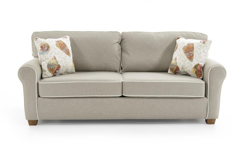 Best Home Furnishings ShannonQueen Sofa Sleeper W/ Air Dream Mattress ...