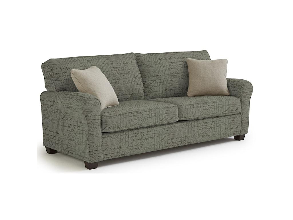 Best Home Furnishings ShannonQueen Sofa Sleeper