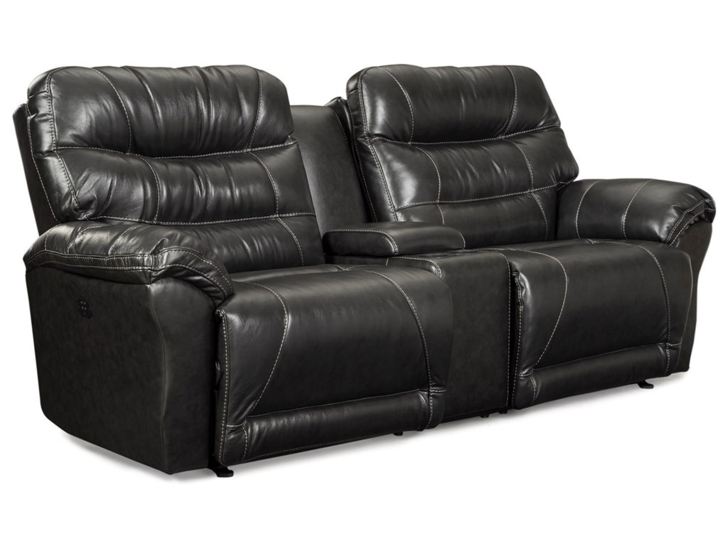 Best Home Furnishings ShelbyPwr Wall Recl Sofa w/ Console & Pwr Headrest