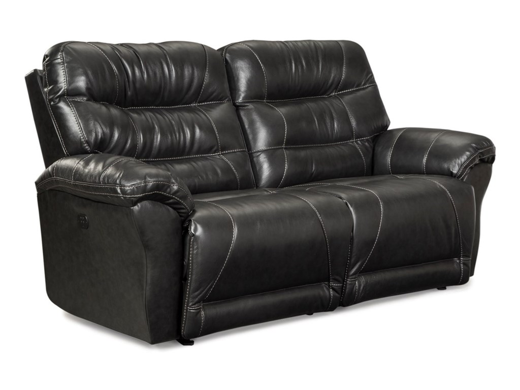 Best Home Furnishings ShelbyPower Space Saver Reclining Sofa w/ Pwr Head