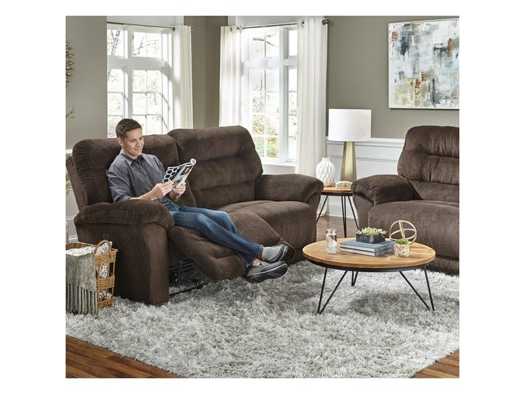 Best Home Furnishings ShelbySpace Saver Reclining Sofa