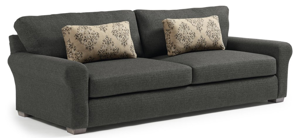 Best Home Furnishings Sophia Transitional Wide Sofa with Removable