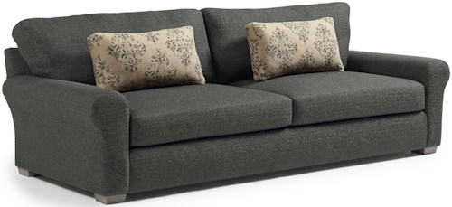 Best Home Furnishings Sophia Transitional Wide Sofa with Removable Cushions