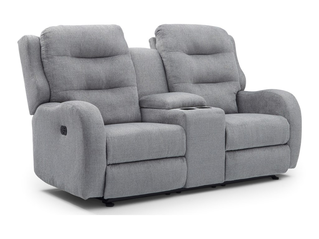 Best Home Furnishings StratmanPower Space Saving Reclining Loveseat