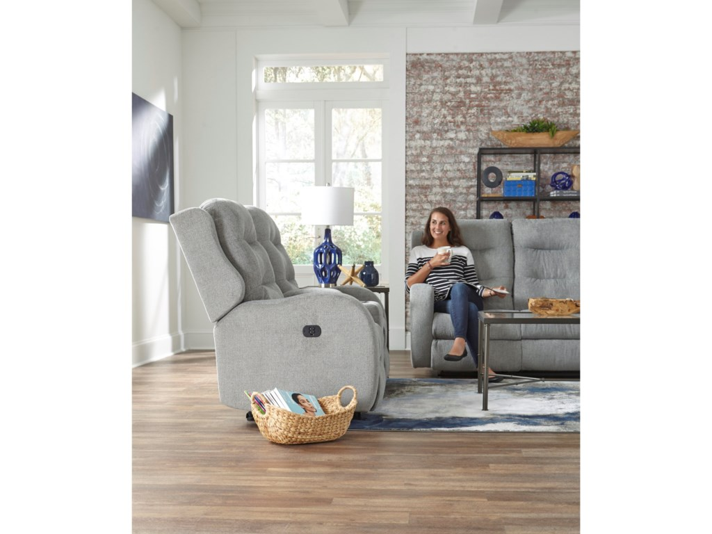 Studio 47 StratmanPower Space Saving Reclining Loveseat