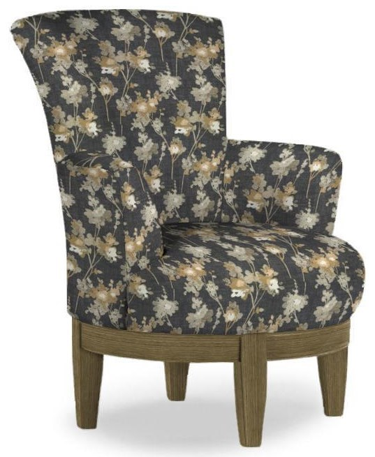Chair with Chic, Flared Arms