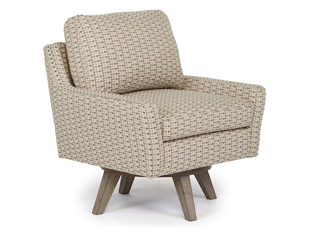 Best Home Furnishings Chairs - Swivel BarrelSeymour Swivel Chair