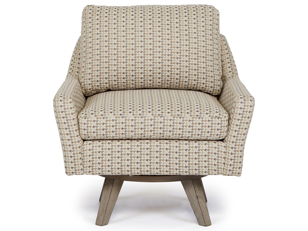 Best Home Furnishings Chairs - Swivel BarrelSeymour Swivel Chair