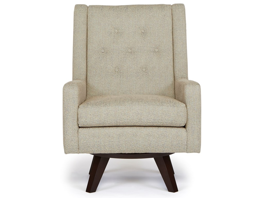 Best Home Furnishings Chairs - Swivel BarrelKale Swivel Chair